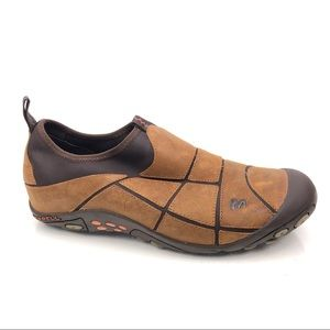 Merrell Mosaic Spice Leather Slip On Hiking Shoes